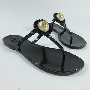 10b221f3f87c5 Tory Burch Shoes - Tory Burch Melody Pearl Jelly Thong Sandals